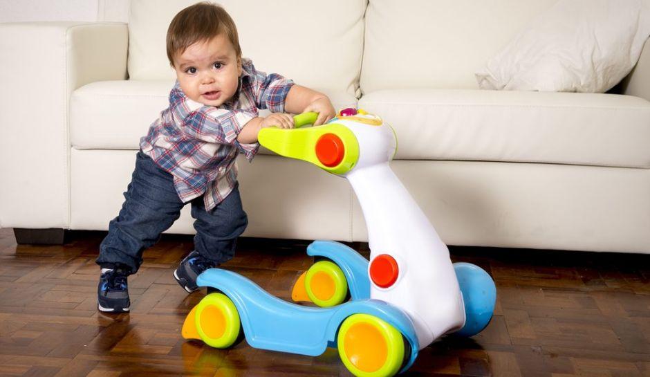 Las 3 mejores andaderas para que tu hijo aprenda a caminar