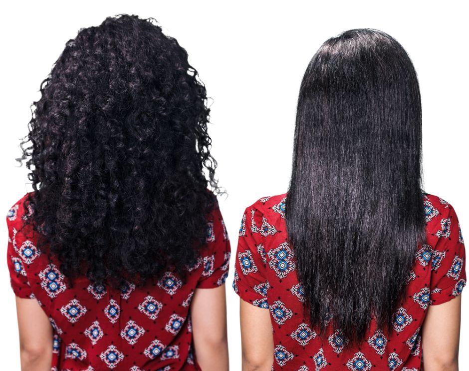 Keratina cabello corto mujer