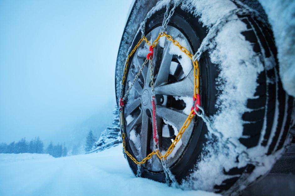 5 cadenas de neumáticos para conducir seguro en la nieve