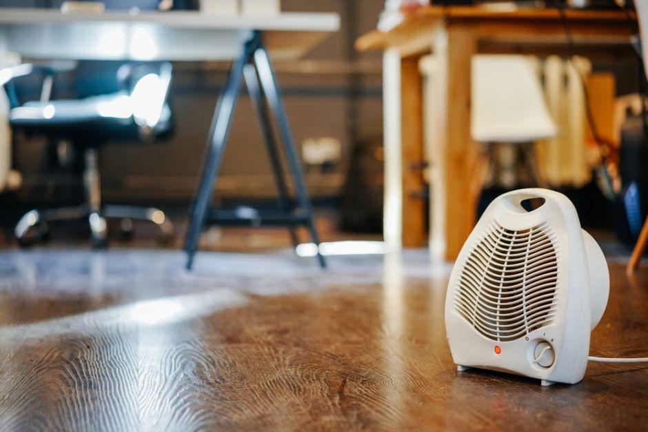 Tratamiento de habitaciones con calentadores