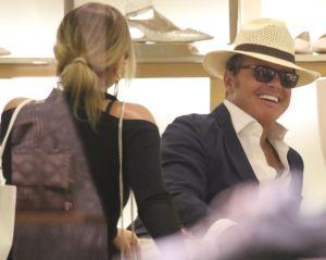 Luis Miguel aparece más delgado y sonriente junto a Mollie Gould
