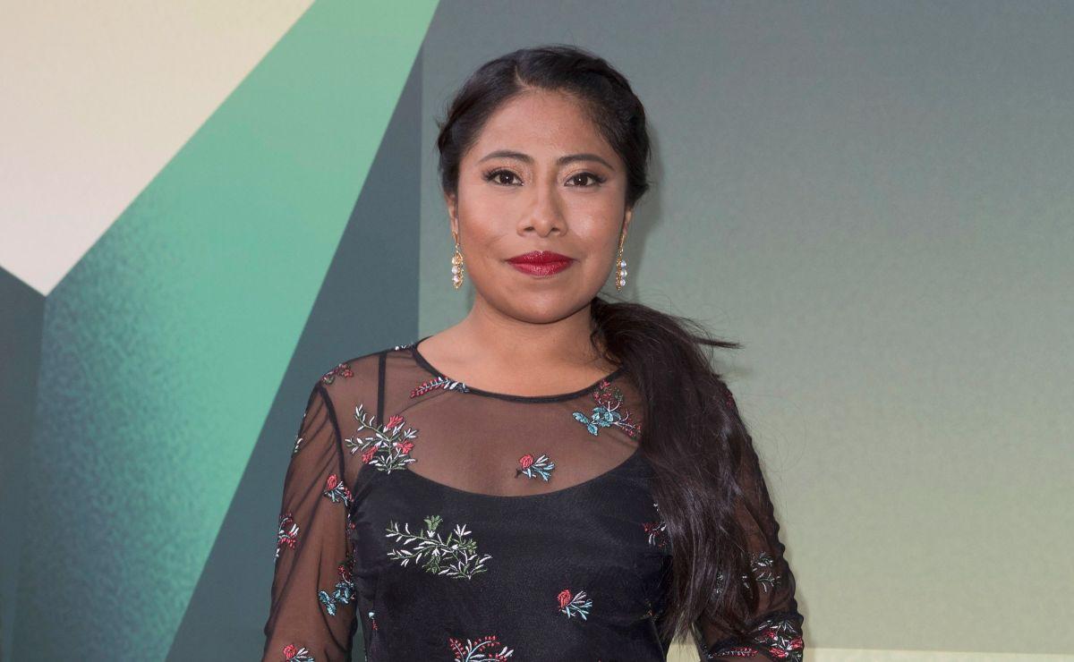 Yalitza Aparicio durante el London Film Festival.