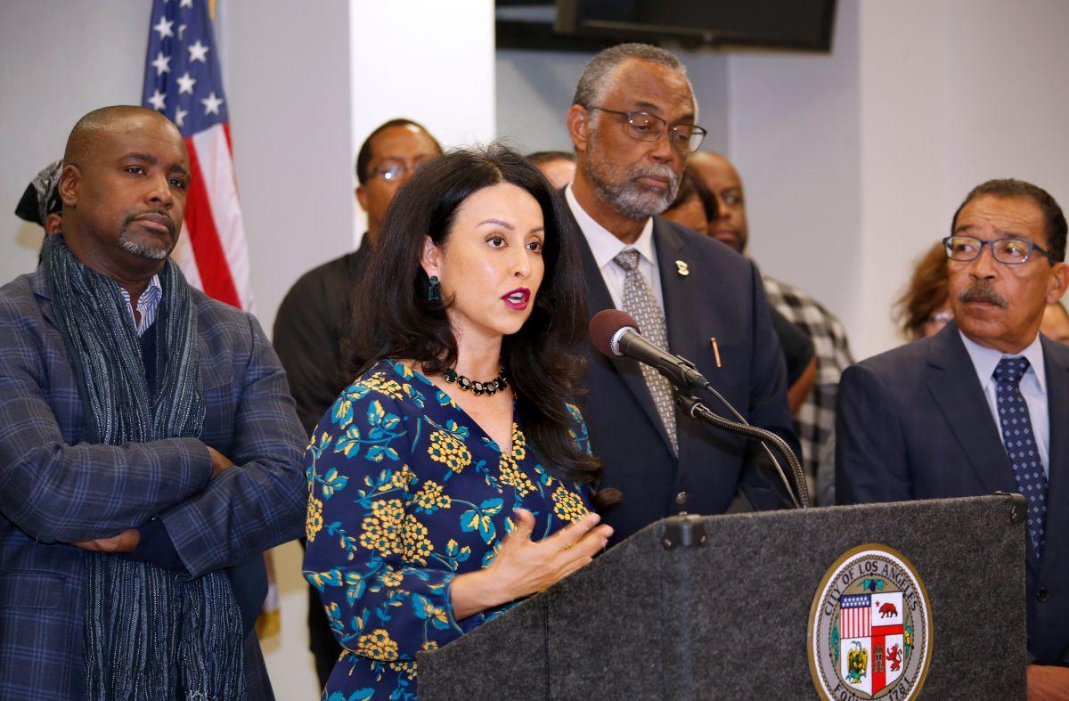 Nury Martinez será la nueva presidenta del Concejo de Los Ángeles.