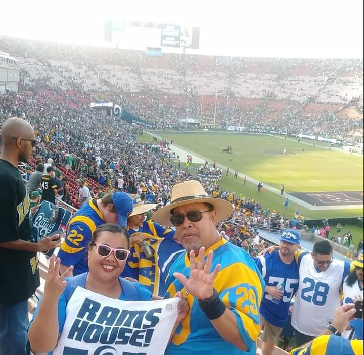 Pasión latina en LA por el duelo Rams-Cowboys