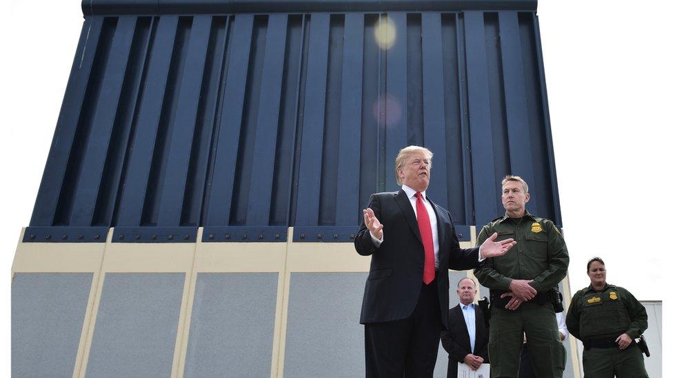 El Pentágono autoriza $1,000 millones para el muro bajo la emergencia nacional de Trump