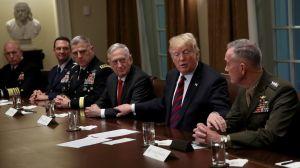 Trump y su estrategia militar: por qué se acabó el idilio entre el presidente y los generales