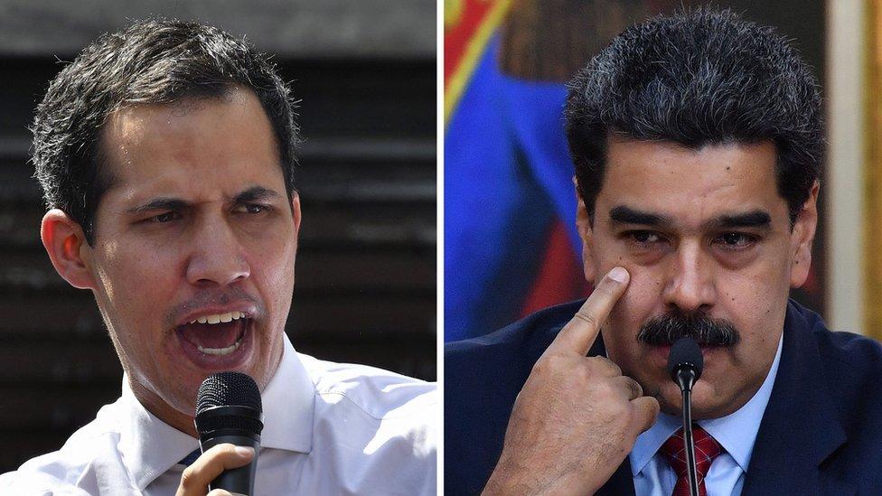 Juan Guaidó anuncia elecciones al tiempo que Maduro arremete contra él y EEUU