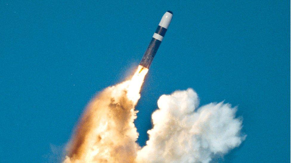 La nueva ojiva W76-2 equipará a los misiles Trident.
