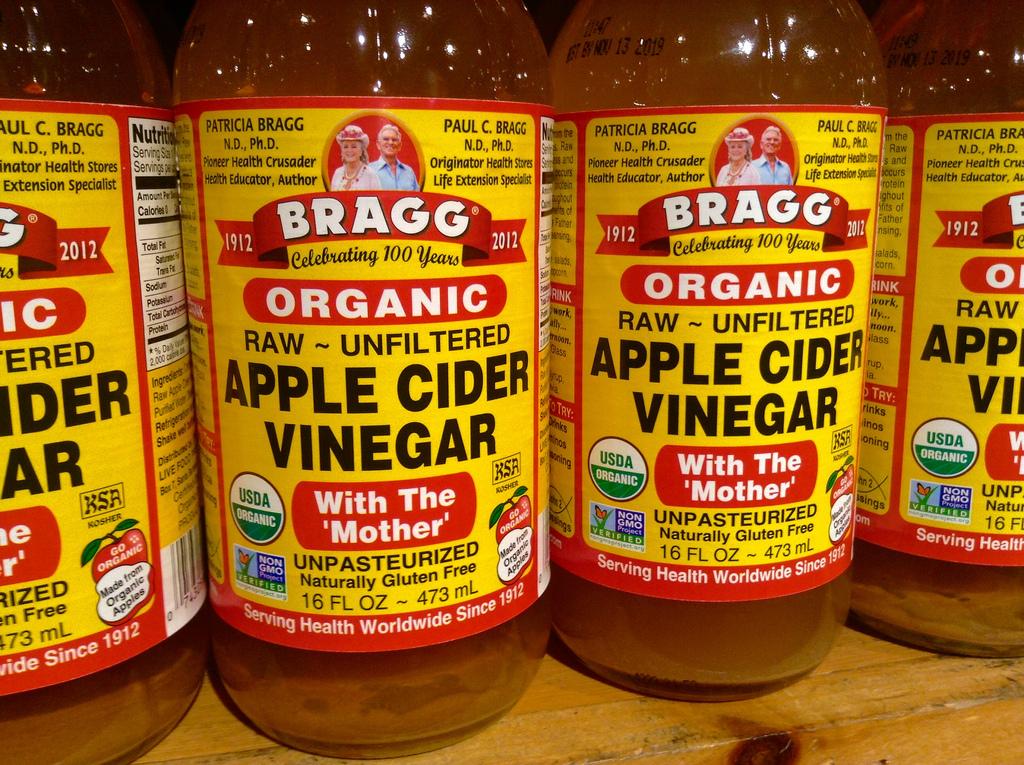 para qué sirve el té de vinagre de sidra de manzana