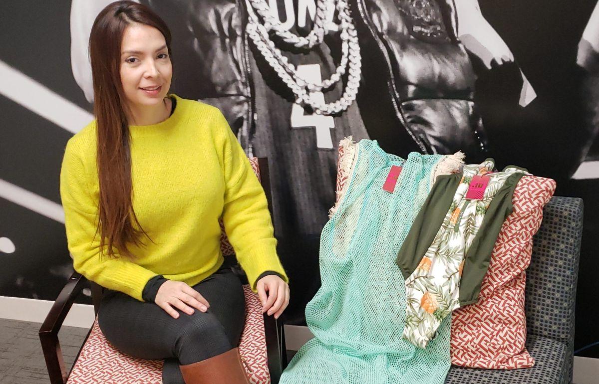 La diseñadora Jo Aguirre nos comparte su moda vibrante para contagiarnos de alegría