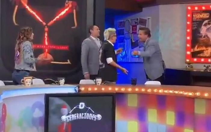 Maca Carriedo responde a declaraciones de Alfredo Adame tras abandonar programa