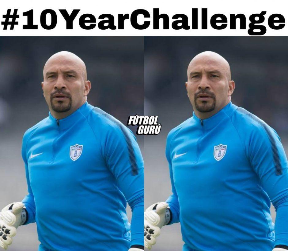 """Los memes del """"10 years challenge"""" del fútbol mexicano en especial Cruz Azul"""