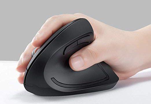 Los 5 mejores mouse verticales para tu computadora que se ajustan a la palma de tu mano