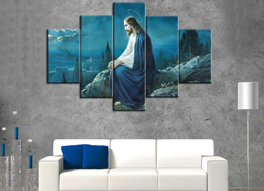 Las 5 mejores pinturas de Jesucristo que puedes colocar en la sala de tu hogar