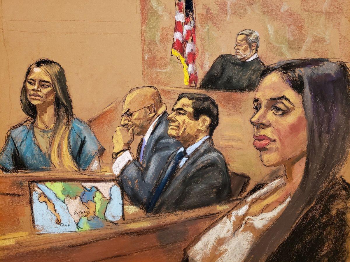 "La ""Chapodiputada"" rindió testimonio contra Guzmán Loera, frente a Emma Coronel."