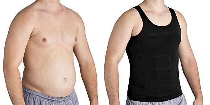7 camisetas de compresión para reducir el abdomen