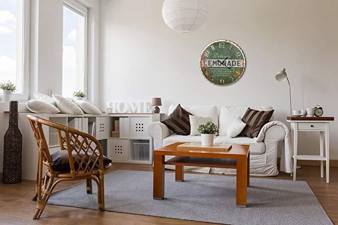 5 relojes de pared con estilo vintage para decorar la sala de tu casa