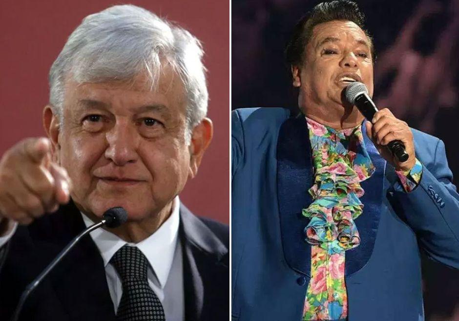 Juan Gabriel solo espera la autorización de López Obrador para reaparecer, aseguran