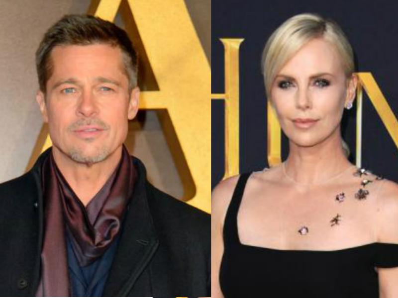 Brad Pitt y Charlize Theron no están juntos ¿Será que el actor sí mantiene romance con Jennifer Aniston?