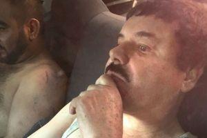 """Hoy se cumplen 3 años de la captura de """"El Chapo"""" Guzmán en Los Mochis, Sinaloa"""
