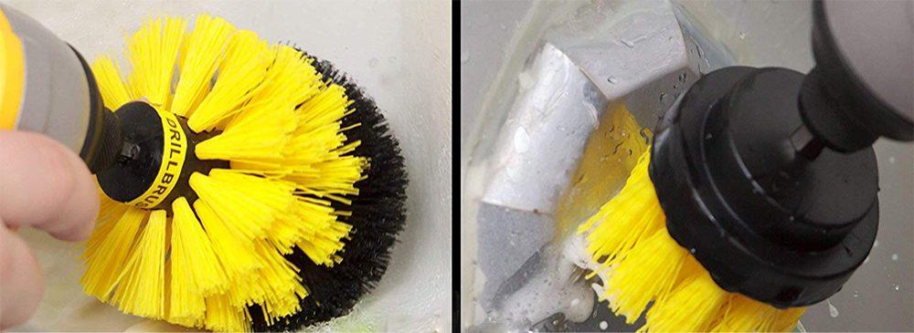 Limpia tu baño sin mucho esfuerzo con el kit de limpieza Drill Brush de As Seen on TV