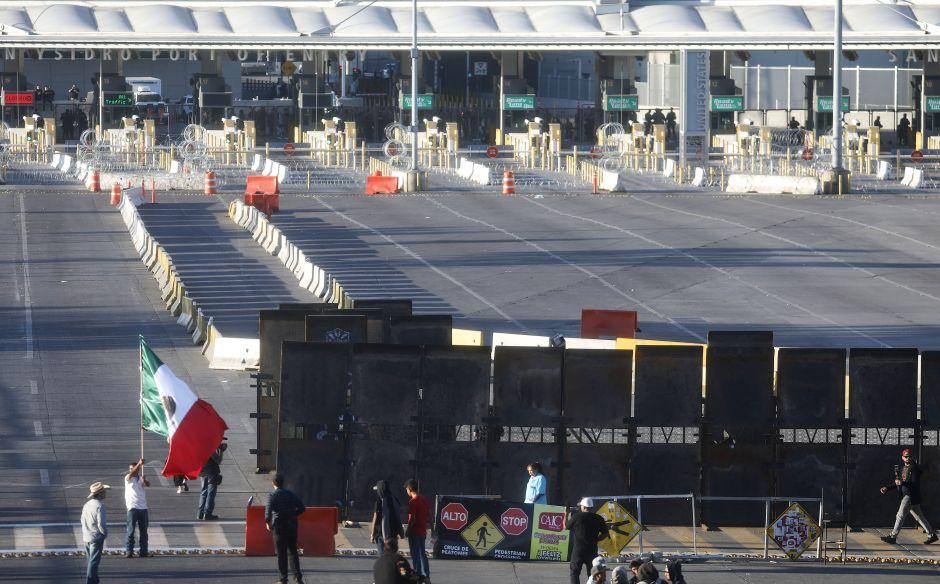 Cierran temporalmente cruce fronterizo entre Tijuana y San Diego para realizar ejercicio de seguridad