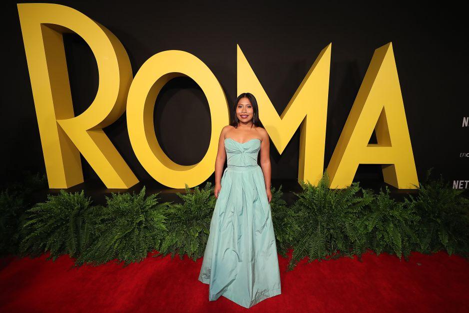 Yalitza Aparicio conquista Hollywood con su belleza natural, y en la moda su secreto está con Sophie Lopez
