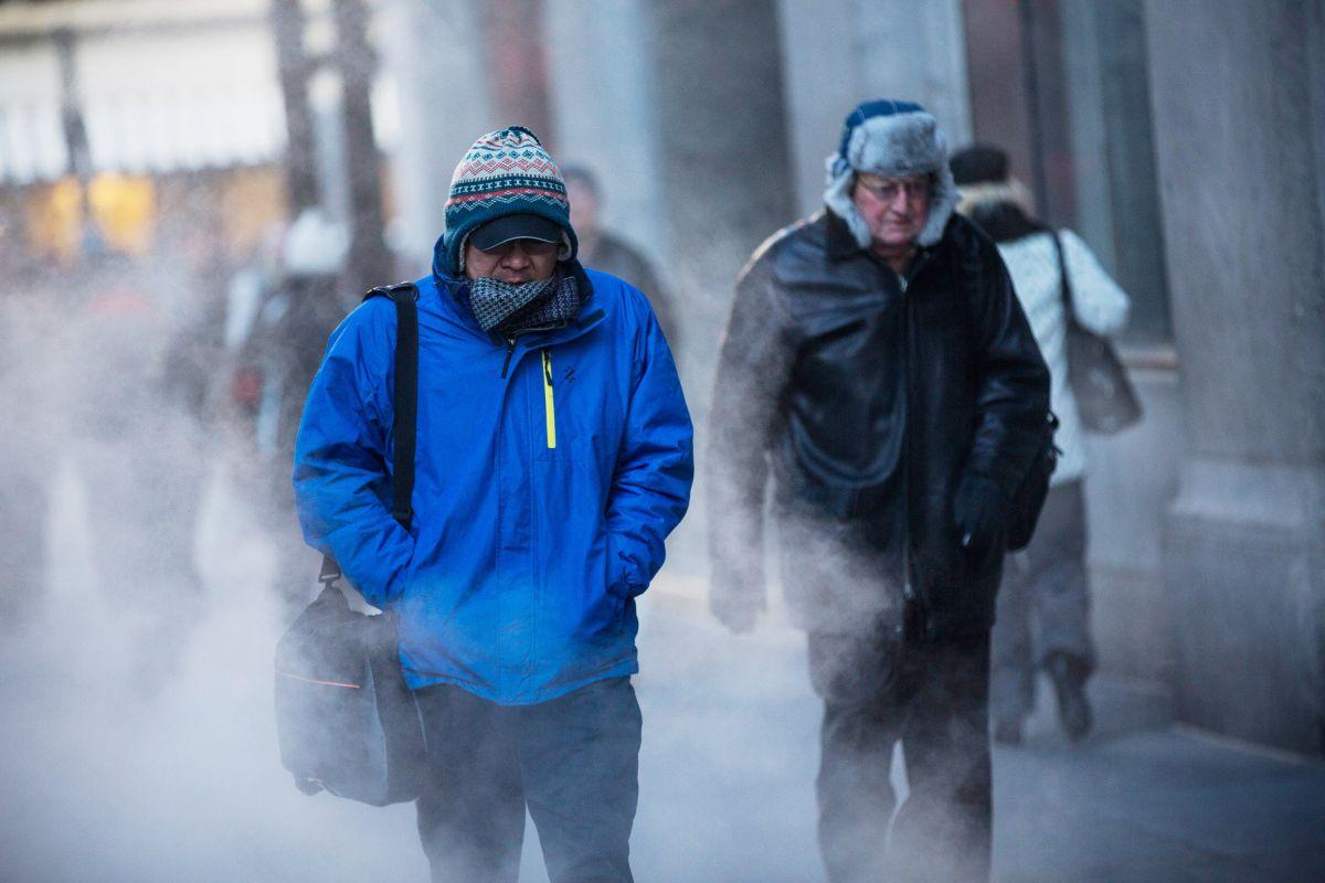 Algunos estados podrían sufrir el aire más frío en una generación, según el Servicio Meteorológico Nacional de EEUU