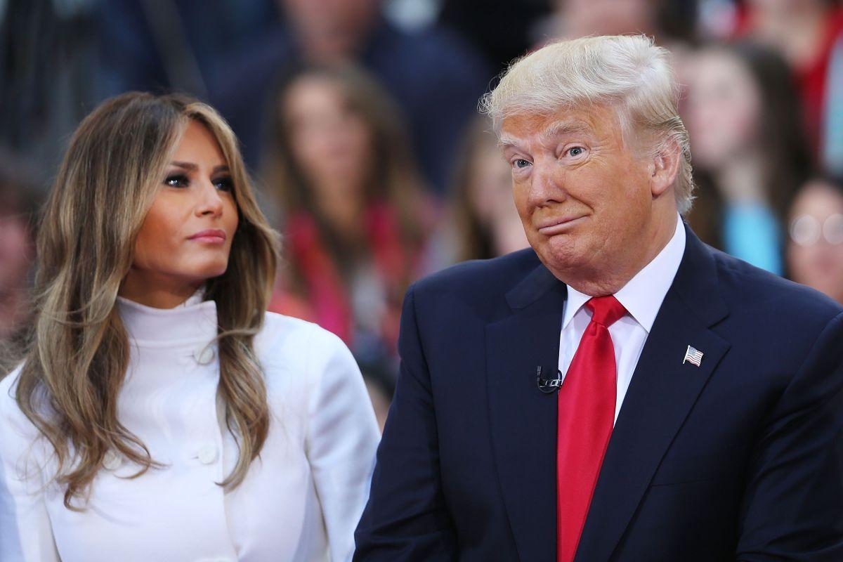 Donald Trump y Melania Trump están nominados a los premios Razzie