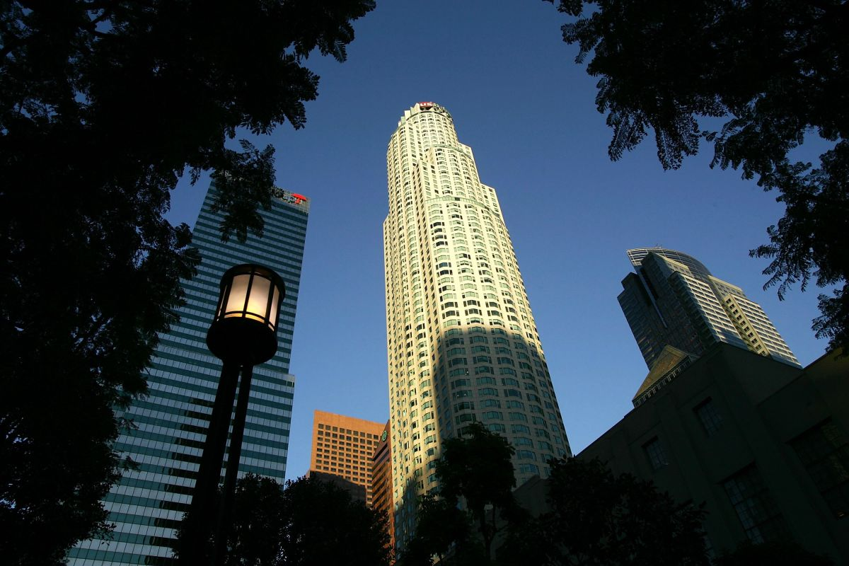 La Torre U.S. Bank del centro de Los Ángeles está a la venta