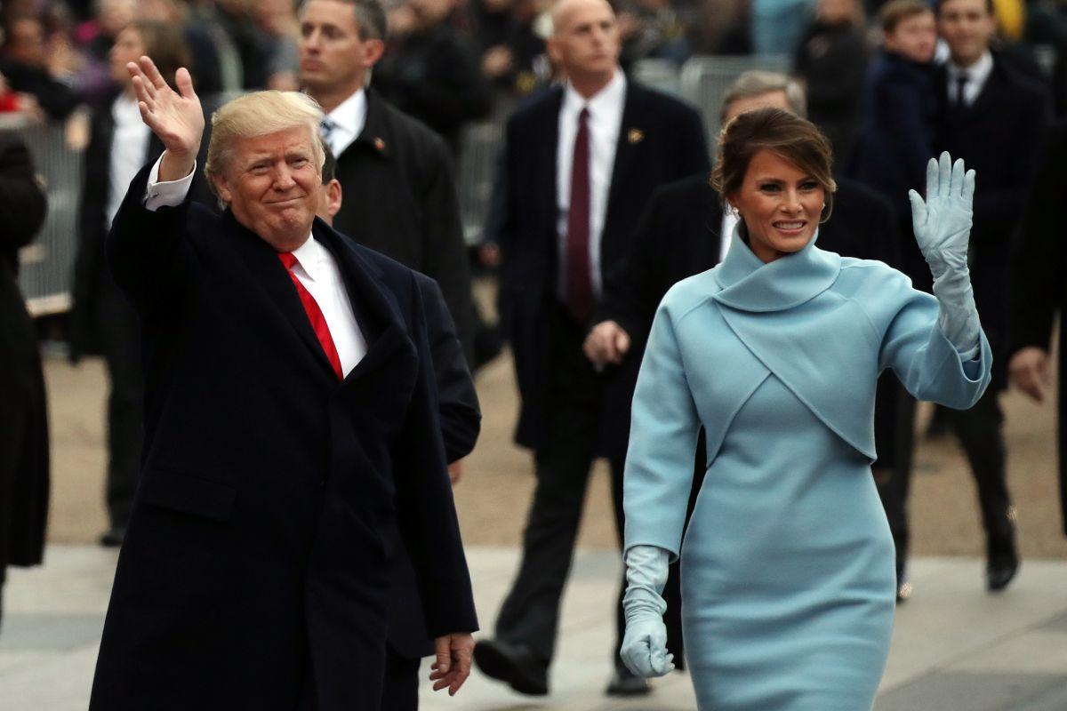 Los Trump se gastaron $10,000 dólares en maquillaje para la toma de posesión