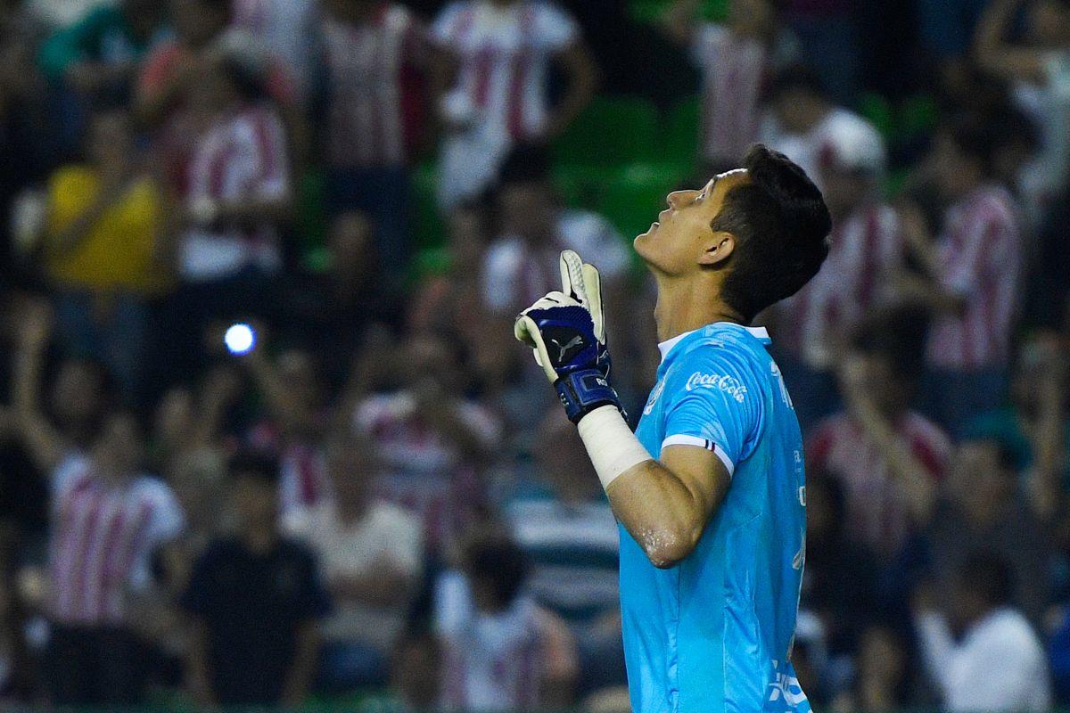 Gudiño perdió la titularidad con el Rebaño hace un torneo.