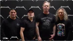 """Así felicitó Metallica a Mariano Rivera a través de un video y con el tema """"Enter Sandman"""""""