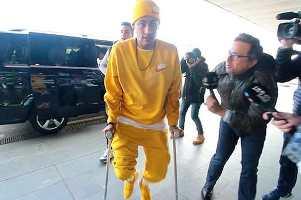 """""""¡No me toques los cojones!"""", así respondió Neymar a un reportero en Barcelona"""