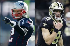 Tom Brady Vs. Drew Brees: El duelo del año en la NFL para superar el récord de Manning