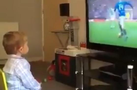 Video: El niño que la está rompiendo en redes por la ternura con la que celebra un gol