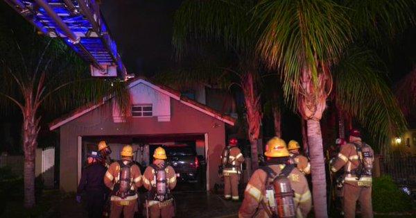 Incendio en casa de Perris mata a dos adultos, un niño resulta herido