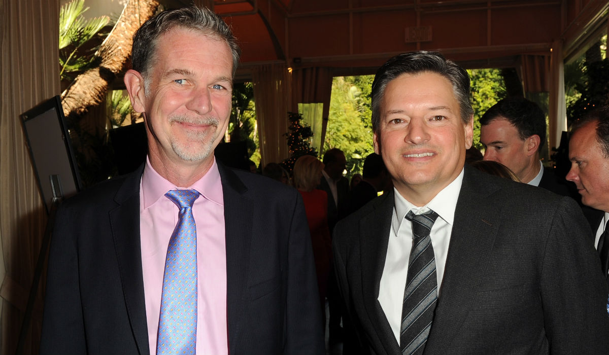 Reed Hastings y Ted Sarandos