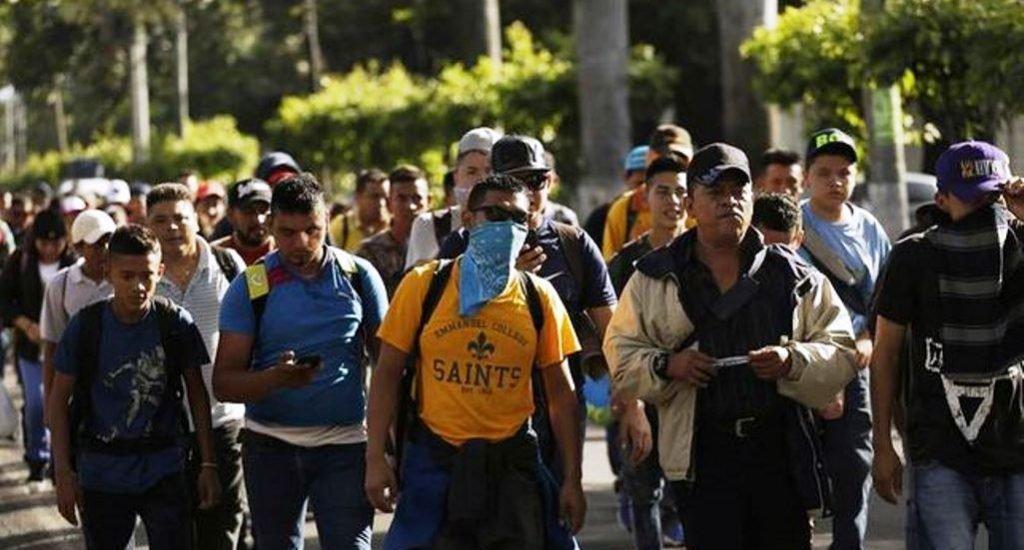 Pasarán por Guatemala para llegar a México.
