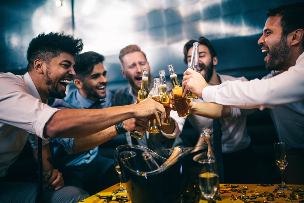 El alcohol puede provocar comportamientos inexplicables.