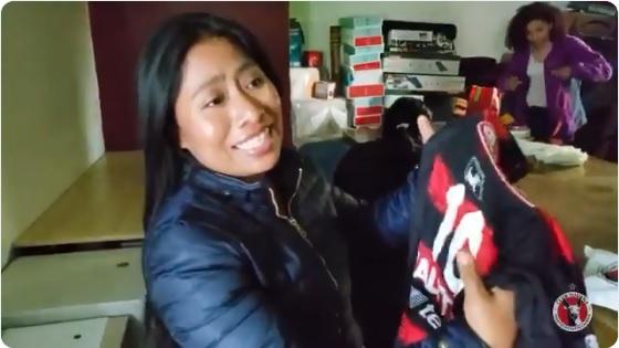 Yalitza Aparicio recibe una inesperada sorpresa del club de futbol Xolos de Tijuana
