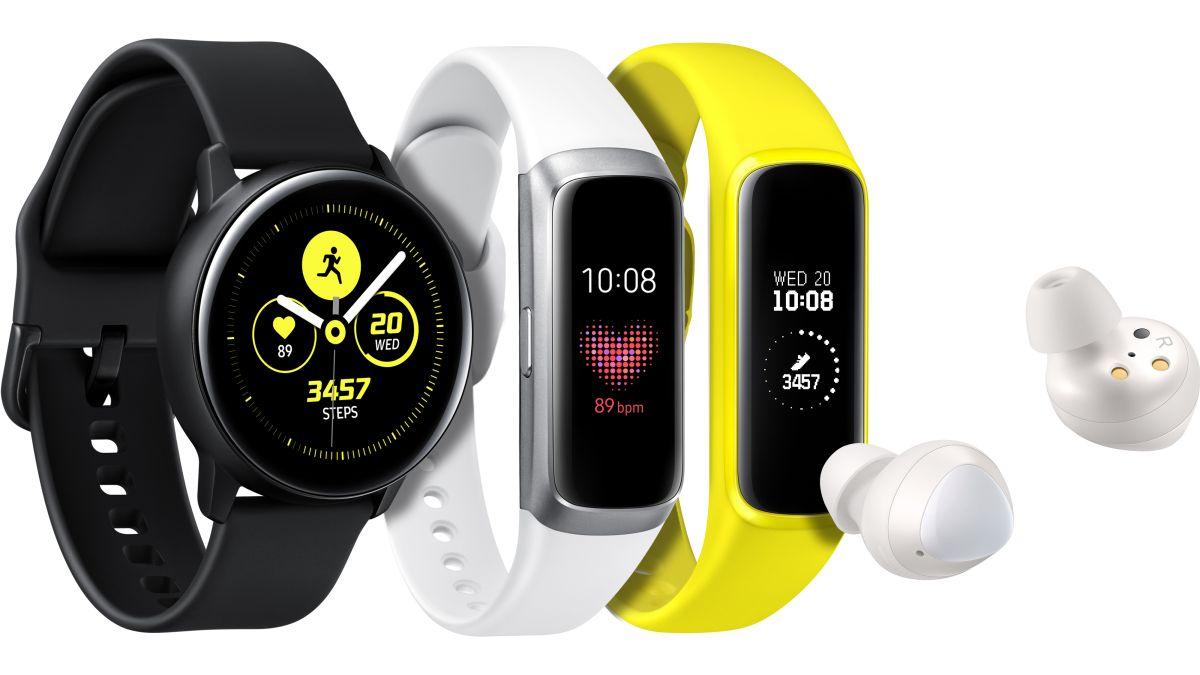 No solo celulares, Samsung también presentó nuevos relojes y audífonos