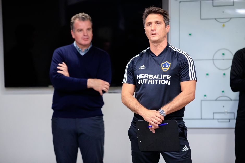 (Video) Entrevista: Barros Schelotto quiere poner a Giovani a punto y al Galaxy en lo alto de la MLS