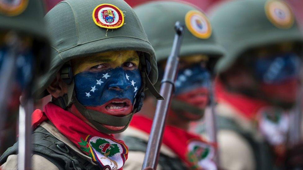 El Ejército de Venezuela ha sido clave en el conflicto del país.