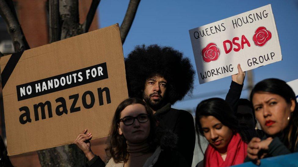 Long Island City, la comunidad que rechazó la nueva sede del gigante del comercio electrónico Amazon