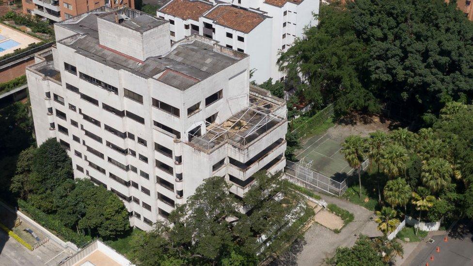 El edificio Mónaco era una de las muchas propiedades de Pablo Escobar.