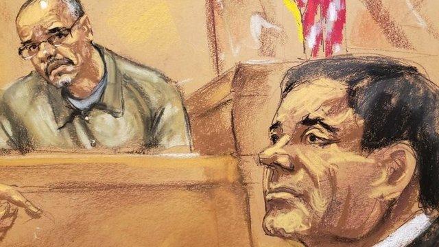 Cifuentes ha sido uno de los testigos en el juicio contra Joaquín Guzmán.