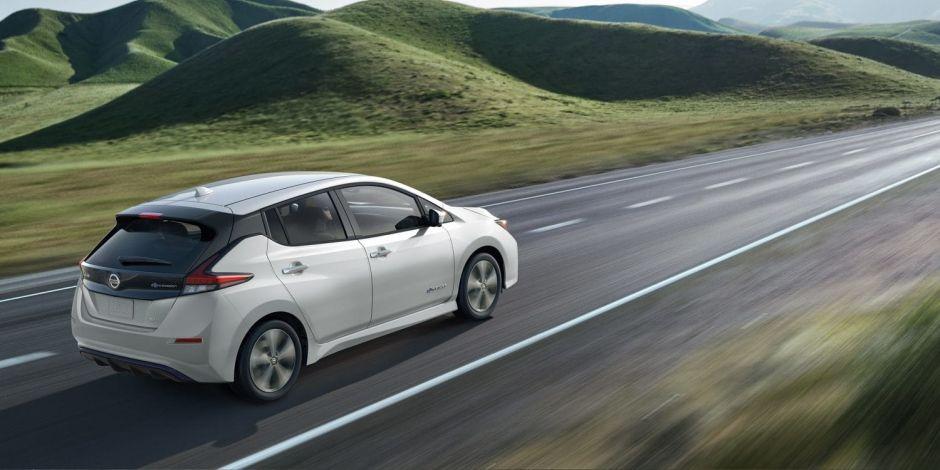 Nissan Leaf Plus 2019 es el auto eléctrico que te permitirá viajar 200 millas con sólo una carga