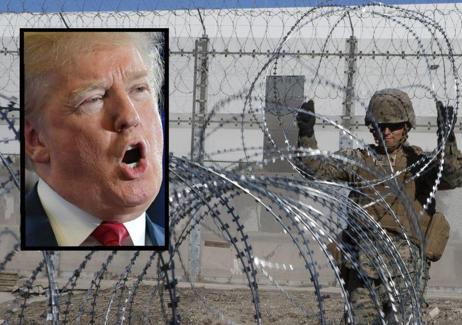 Trump amenaza con cerrar la frontera con México la próxima semana