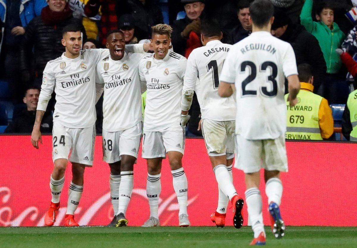 El Real Madrid celebró un gran triunfo en casa frente al Alavés.